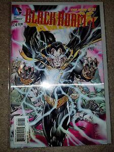 DC COMICS: BLACK ADAM #1 : JUSTICE LEAGUE AMERICA 7.4 NM with LENTICULAR COVER