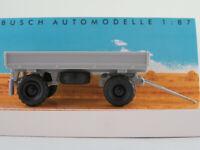 Busch 53002 Anhänger IFA HW 60 (1987) mit Niederdruckbereifung 1:87/H0 NEU/OVP