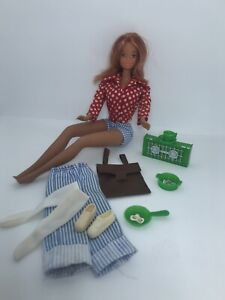 1973 Yellowstone Kelley Doll Outfit Accessories MOD Barbie Pierced Ears