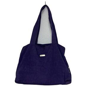 baggallini Purple Nylon Tote Duffle Shoulder Bag Extra Large Weekender Carry On