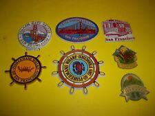 Vintage San Francisco, Golden Gate -Redwoods refrigerator magnets