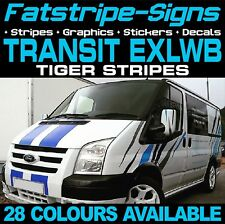 FORD TRANSIT EXLWB TIGER STRIPES GRAPHICS STICKERS STRIPES DECALS ST M SPORT VAN
