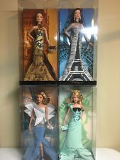 COLLECTORS Barbie Dolls of the World Landmark set New York Sydney London Paris