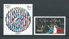 FRANCE - 1980 YT 2113 à 2114 - TIMBRES NEUFS** LUXE