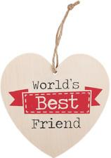 Wooden Best Friend Decorative Wall Plaques