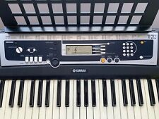 Yamaha YPT210 Keyboard with keyboard stand and music stand
