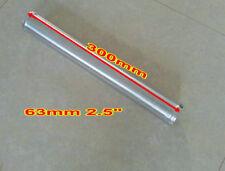 "2.5"" 63 mm straight aluminum tube pipe 300 mm long for turbo Intercooler adapter"