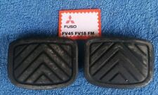 Mitsubishi Fuso FV FM Truck Brake and Clutch Pedal Rubber Pads pair new