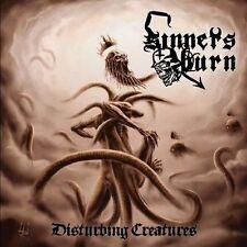 SINNERS BURN-DISTURBING CREATURES-CD-death-metal-blodsrit-blizzard-Swedish