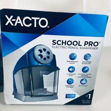 Xacto Electric Pencil Sharpener 4 12x7x6 36 Bluegray
