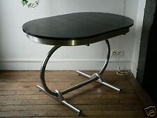 table oblongue+rallonge ingénieux système! memphis milano design vintage 70/80's