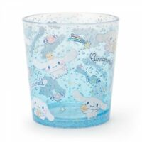 New Sanrio Cinnamoroll Clear Plastic Tumbler Cup From Japan F/S