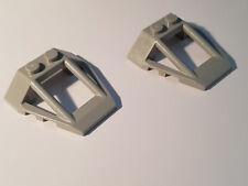 LEGO® 2 x 47758 Windschutz 4 x 4 neu hellgrau 6231954 (#SH09) Cockpit