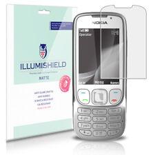 iLLumiShield Anti-Glare Matte Screen Protector 3x for Nokia 6303i Classic