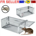 Piège à Rat Cage Argente Petits Animaux Rongeur Souris Contrôle Appâts Capture