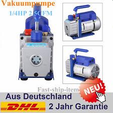 2.5CFM Oil einstufige Vakuumpumpe Klimaanlage Kälte Vacuum pump Drehschieber DHL