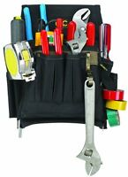 Custom Leathercraft 1505 Electrician's Tool Pouch, 10-Pocket