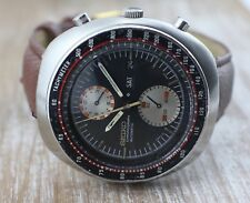 Seiko Automatic Chronograph 6138-0011 UFO Mens Watch - Fully Serviced
