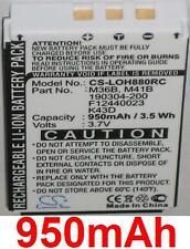 Batterie *950mAh* Pour Logitech Harmony 720 780 880 890 895 900 MX-880 MX-890