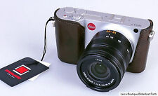 Artisan & Artist Protecteur halfcase pour Leica T TL 2 boutons-T comité exécutif. Cuir Marron Noble