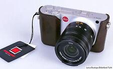 Artisan&Artist Protektor HalfCase für Leica T TL 2 LMB-T  ital.Leder edles braun