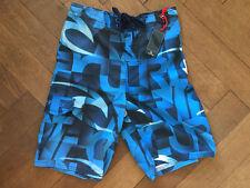 "Rip Curl Spectrum S/E 18"" Blue Boardshort Boy's Shorts Navy 14 Years BNWT"