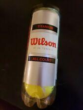 Wilson Titanium Tennis Balls Can of 3 Balls