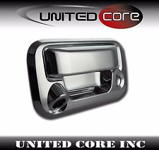 07-14 Ford F150 08-13 Ford Super Duty Chrome Tailgate Camera Cut Out