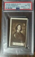 1923 Oliver Cromwell - Sarony & Co. #12 - Rare Card - PSA 4.