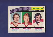 Checking Line Montreal Canadiens 1976-77 O-PEE-CHEE Hockey #217 (VGEX)