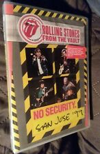 Rolling Stones NEW SEALED DVD From The Vault: No Security SAN JOSE 1999