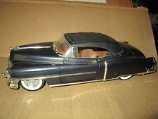 53 cadillac  1953 1/18 ansen convertible top up black display no mirror loose