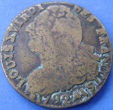 France - Frankrijk : 2 sols 1792 AA Metz LOUIS XVI