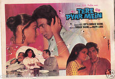 TERE PYAR MEIN (1978) PRESS BOOK BOLLYWOOD  SARIKA MITHUN CHAKRABORTY