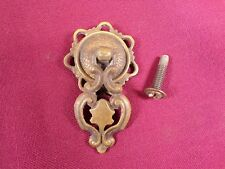 Antique Drop Drawer Pull Handle Brass Vintage