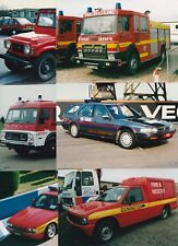 """30 - 6"""" x 4"""" Colour Photographs of Racing Fire / Emergency Vehicles - NEW SET"""