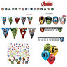 Marvel Avengers Boys Superhero Party Decorations Banners Confetti Masks Balloons