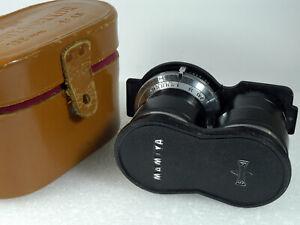 Mamiya-Sekor 135mm 1:4.5 Portrait Lens f/ Mamiyaflex TLR w/ Original Cap & Case!