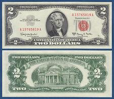 USA 2 Dollars 1963 A UNC  P. 382 b