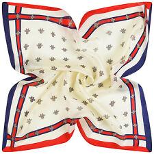 60X60cm Bee Women Multipurpose Silk-Satin Square Scarves scarf Summer supplies