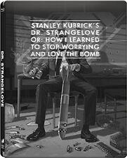 Dr. Strangelove (Blu-ray Steelbook) Stanley Kubrick NEW