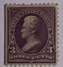 Travelstamps: 1895 US Stamps Scott # 268 3 Cent Denomination Jackson Mint NG