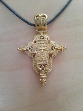 Russian Style Orthodox Christian Reliquary Pectoral Cross Good Detail Relic Case