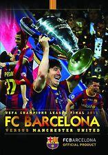 FC Barcelona vs. Manchester United UEFA Champions League 2011 Finale [DVD] Barca