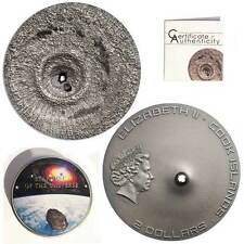 CIT 2016 Tamdakht Meteorite Strike 1/2oz Antiqued Silver Coin