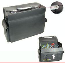 Suitcase Travel Mehrzweckkofer Service Tool Box Leather Case #24C
