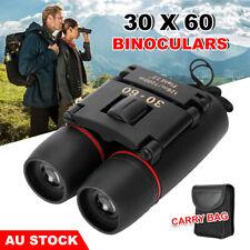 30X60 Mini Binoculars Night Vision Compact Kids Outdoor Telescope Travel Hunting