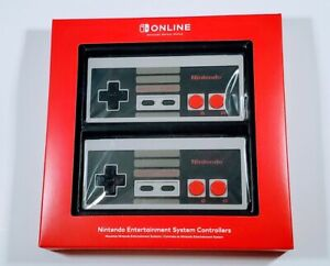 Nintendo Entertainment System Controllers NES 2 Pack Nintendo Switch Online New