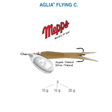 Cuiller Mepps Aglia Flying C 10 G Argent (silver) / Naturel (natural)