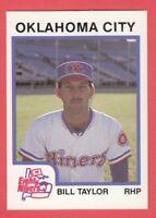 1987 Minor League ProCards # 157 Bill Taylor - Oklahoma City Eighty Niners